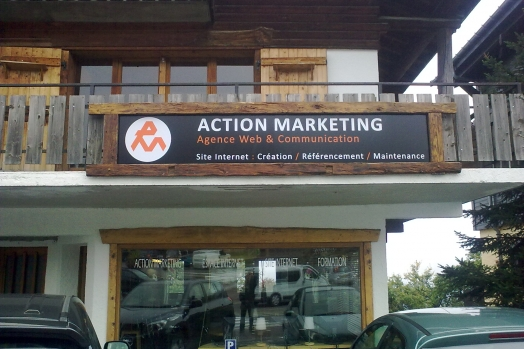 Façade Action Marketing Combloux